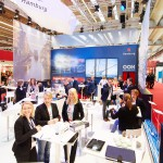 (Deutsch) Congress Center Hamburg's booth at the IMEX 2015
